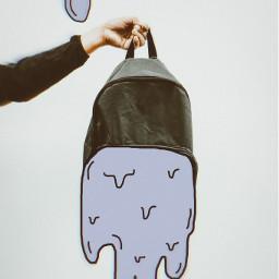 interesting myedit myoriginaledit backpack slime sticker draw freetoedit picsart ircdesignthebackpack designthebackpack