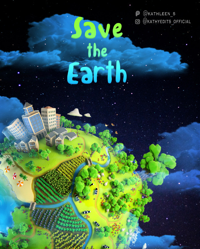 #freetoedit #savetheearth #earthday #imagination #surrealism #spacer #kathleen_s #planetearth #manipulation #picsartedit