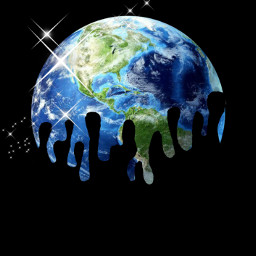 earth earthday earthday2021 stars drip cool galaxy black blue replay freetoedit