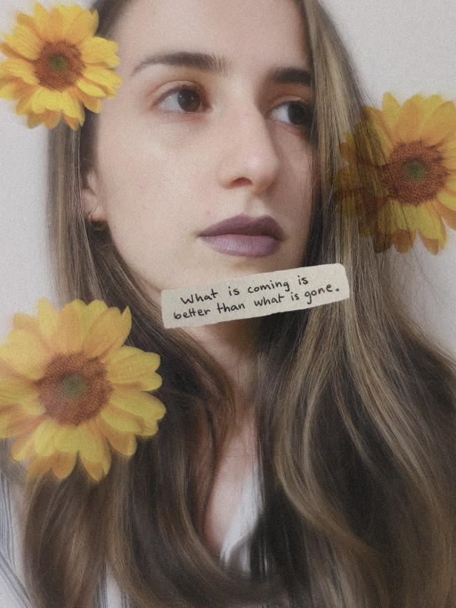 #sunflowerselfie