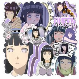 hinatahyuga naruto purple overlay edit anime manga freetoedit