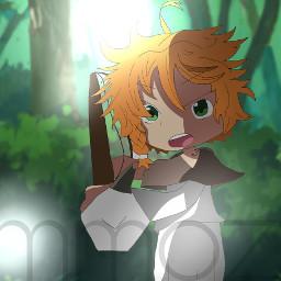 emma promisedneverland 63194 anime speed paint edit bow and arrow