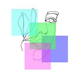 outlineportrait geometric colorsquares srcoutlineportrait freetoedit