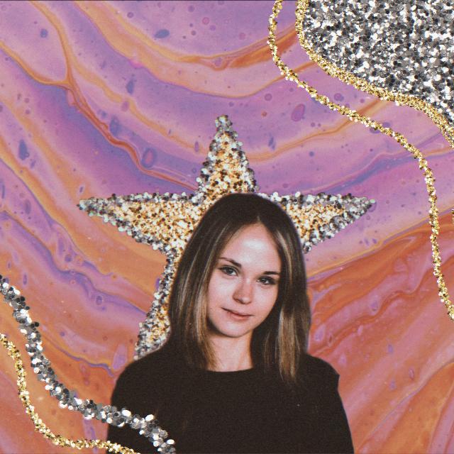 #glitter #silverglitter #brusheffect #effect #brush #goldglitter #silver #gold #replay #girl #portrait #aesthetic #retro #vintage #90s #background #wave #waves