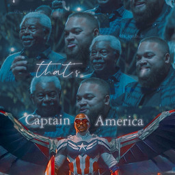 falconandthewintersoldier captainamericaandthewintersoldier captainamerica falcon samwilson anthonymackie marvel thatscap blendedit freetoedit