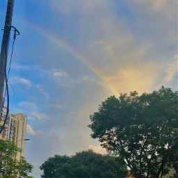 freetoedit rainbow pcmothernature mothernature