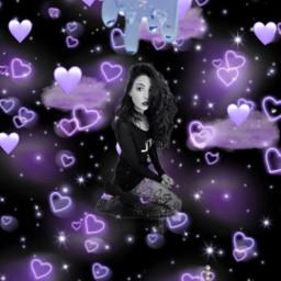jessivee purplehearts freetoedit srcpurpleclouds purpleclouds