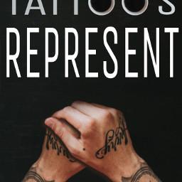 tattoo tattoos tattosrepresent personalculture proudink freetoedit irccoffeetime coffeetime