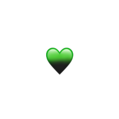 remixit billieeilish emoji iphoneemoji iphonestickers aesthetic green cute remix heart black sparkle glitter greenaesthetic blackaesthetic freetoedit