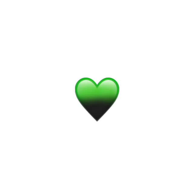 💚🖤 #remixit                                                           #billieeilish #emoji #iphoneemoji #iphonestickers #iphoneemoji #aesthetic #green #cute #remix #heart #black #sparkle #glitter #greenaesthetic #blackaesthetic