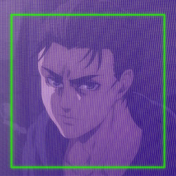 cyber purple green goth gothboy gothstyle anime animeboy eren erenjeager erehh attackontitan icon fypシ fypage foryoupage freetoedit