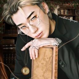 san choisan sanateez ateez kpop manipulation edit vintage april