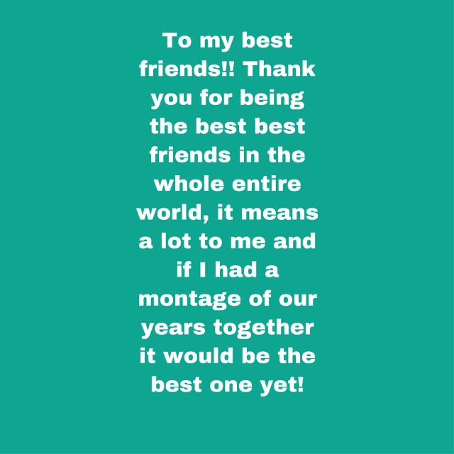 Send this to your beaties!! #bestiesforlife