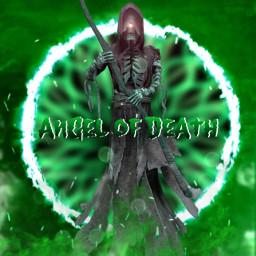 horror digitalart creative fun green technikó