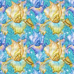 blue flowers freetoedit