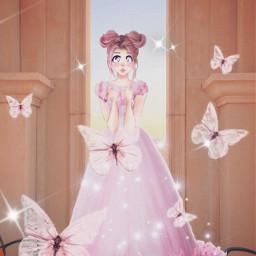 pinkprincess pink princess astheticpink asthetic pinkaesthetic pinkbutterflies pinkbutterfly pinkish pinkie idkwhatthisis idkgotbored idk art interesting freetoedit