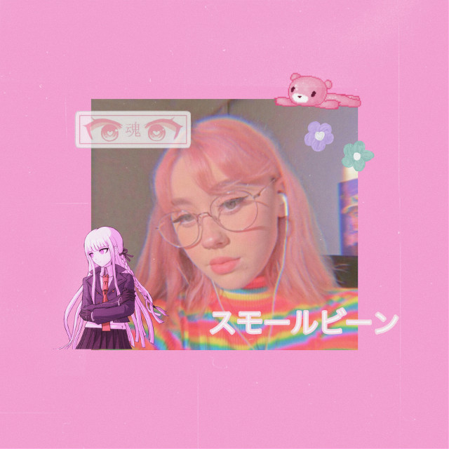 """sorry for the inactivity :')   also did yall hear about bts' upcoming song called """"butter""""?! i cant waittt  #kidjess #pink #kawaii #aesthetic #anime #weeb #pastel #japanese"""