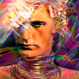 myoriginalwork originalart conceptart manportrait colorful