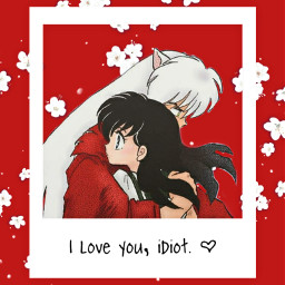 inuyasha kagomehigurashi inukag lockscreen wallpaper anime manga freetoedit