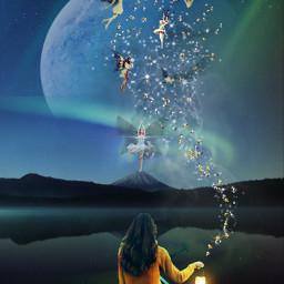 surreal surealism dreams stickers stickerremix fairy nature editedbyme editwithpicsart freetoedit
