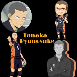 tanakaryuunosuke tanaka ryunosuke haikyu freetoedit