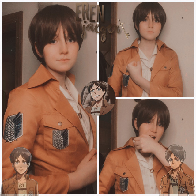 """Eren Yeager⚔️  """"Tatakae"""" (ง'̀-'́)ง   Anyone else drowning in an indescribable emptiness over the new attack on Titan season😏  Also any yeagerists👁👁  I'm on whatever side Levi, Hange and Armin are on👼  Anyway I kinda hate the way I look in this cosplay-  But I guess that's just the way the cookie crumbles amirite- *bites lip*   Aight  Tiktok: weeblet101     ⚔️New tag list⚔️   @bloodborn14 😏 @goldfishcosplays 🤙 @last_living_soul1605 🙃 @happyxfrogg0 💚 @-4ng3l ✨ @freaking-emo 🖤 @jk-jk-unless 😎 @-pink-bxnny- ✌️ @kandiyx 👋 @-_kawaii_tsu_- 🐸 @sally_face_uvu 💙 @spiraledcos 🌚  Woof k that should be everyone-  Comment """"👁"""" if you want to leave and comment """"👀"""" if you want to join  K swag😼   #eren #erencosplay #erenyeager #erenyeagercosplay #erenjaeger #erenjaegercosplay #aot #aotcosplay #attackontitan #attackontitancosplay #cosplay #anime #weeblet101 #tatakae #sasageyo #freedom 😩"""
