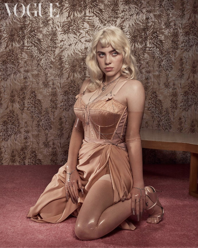 Billie Eilish looks amazing in photoshoot for Vogue 🍯🎞 #freetoedit #italy #billieeilish #interesting #art #california #photography #people #summer #vogue #happierthanever  💡