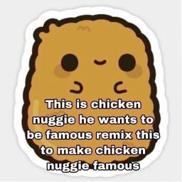 nuggies cute freetoedit