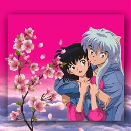 inuyasha inuyashaxkagome inuyashaedit inuyashaandkagome anime freetoedit