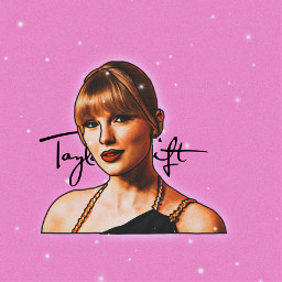 taylorswift taylor swift swiftie swifties taytay tay tayloralisonswift taylorswiftedit pink glitter glow outline outlineedit edit rosa art creative popstar star superstar celeb celebrity singer freetoedit