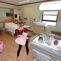 newborn itsagirl freetoedit