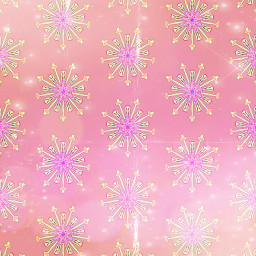 freetoedit sfghandmade patterns backgrounds pink snowy snowflake flowers rosecolor picsarteffects