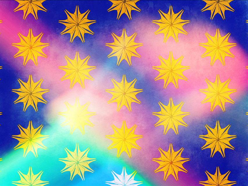 #sfghandmade #backgrounds #patternbackgrounds #pattern #stars #snowflakes #picsarteffects