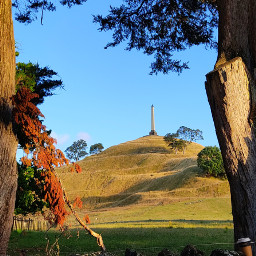 onetreehill cornwallpark aucklandcity newzealand morningwalk freetoedit pctheviewiadmire theviewiadmire