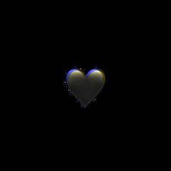 iphone emoji heart glitch black iphoneemoji iphonesticker crown heartcrown cute blackheart aesthetic blackaesthetic freetoedit