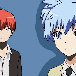 karma akabane nagisa shiota karmaakabane nagisashiota assassinationclassroom anime