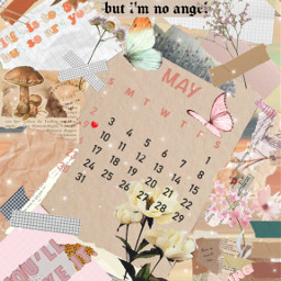 aesthetic scrapbook scrapbookaesthetic warmtones plsvote may calendar brown pink butterfly aestheticbutterfly quotes insirationalquotes may2021 2021 flower floweraesthetic journal pinkflower collage collageaesthetic mushroom mushroomaesthetic washitape washitapeaesthetic freetoedit