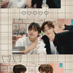 sungchan jungwoo picsart nct vlive cuties freetoedit