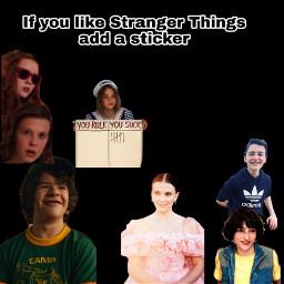 strangerthings robinstrangerthings max eleven dustin lucas will mike morenamesbutidontwanttoputit freetoedit