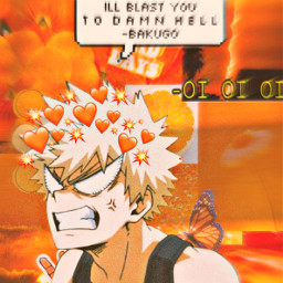 katsukibakugou bakugou orange hottttttttttttttttttttttttt wallpaperedit explosions freetoedit