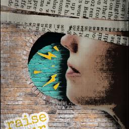 myedit raiseyourvoice coloreffect maskeffect picsart madewithpicsart freetoedit