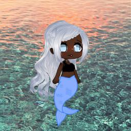 mermaid awesomesticker beatifultail freetoedit
