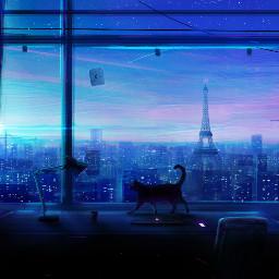freetoedit background anime manga landscape