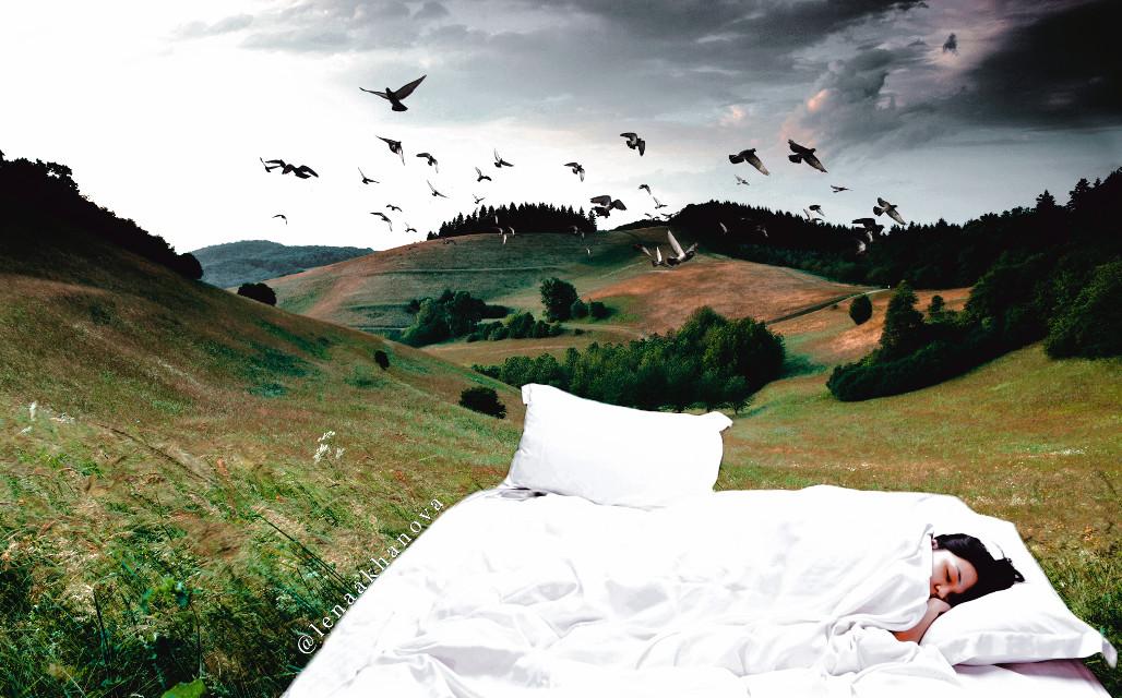 #amazing #nature #sleeping #girl
