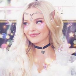 fairycore dovecameron elf fantasy dragonfly girly cute feminine cottagecore blonde pinkaesthetic pink pastel pastelaesthetic vaporwave freetoedit