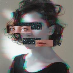interesting art distortion girl woman game blur newedit edit myedit picsart galaxy eyes freetoedit
