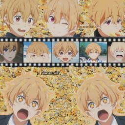 mine free notfreetoedit hazukinagisa nagisa nagisahazuki freeanime complexedit joinmytaglist yellowhair cute anime manga pizza animewallpaper