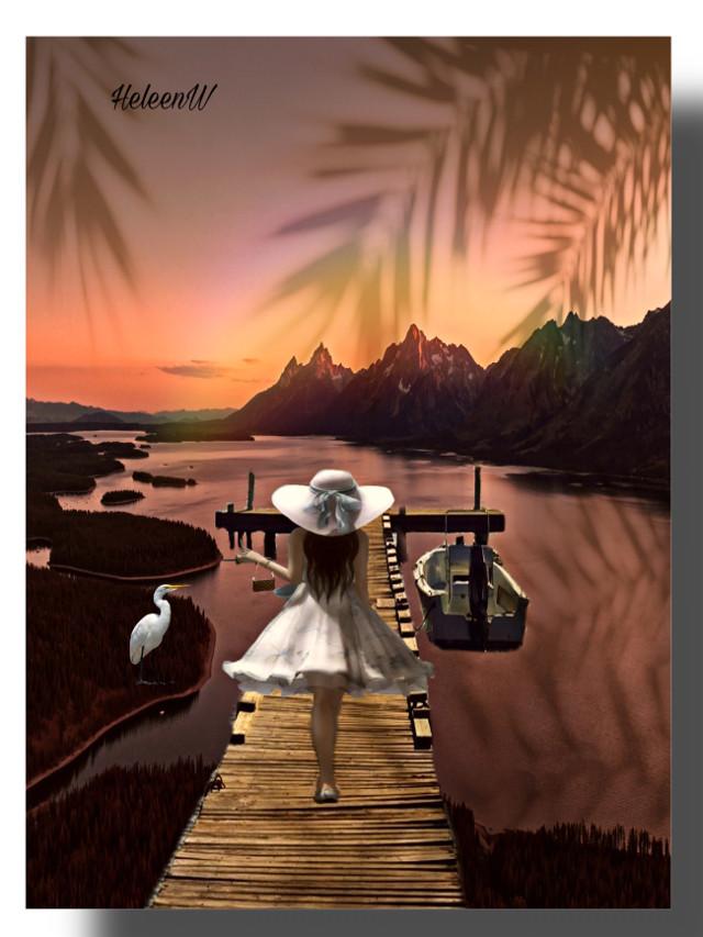 #mastershoutout to @yuri4779349 #fantasy #imagination #myedit #myart #mystyle #shadow #shadoweffect #shadowmask #prismeffect #prisma #prismacolor #girl #boat #interesting #nature #water #sunnyday #summer #goldenhour #freetoedit