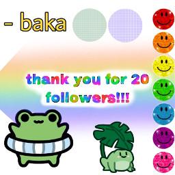 thankyou 20followers freetoedit