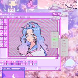purple purpleedit purpleaesthetic digital digitalart aestheticedit pixel pixelaesthetic violet cute cutegirl chibi chibigirl freetoedit